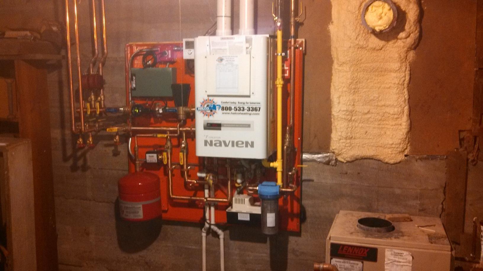 Navien Combi Boiler Installation in Glen Aubrey, NY