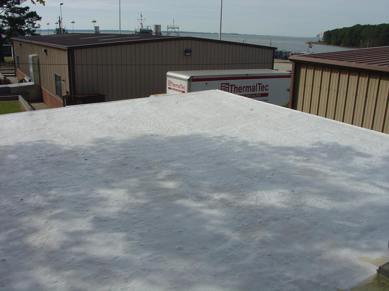 Roof Foam and Coating in Fort Eustis