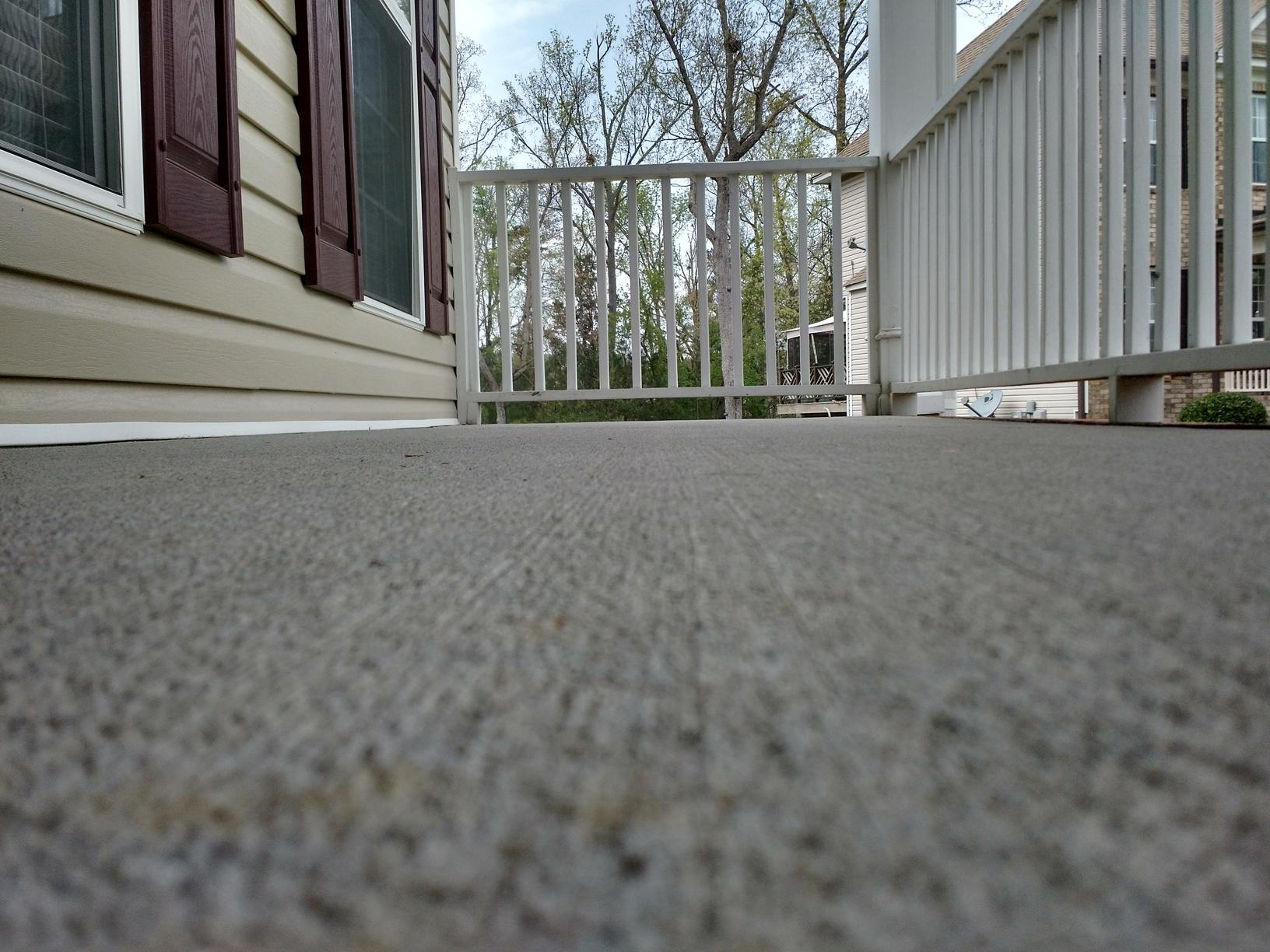 Lifted Front Porch In An Essex Home In Columbia Sc With