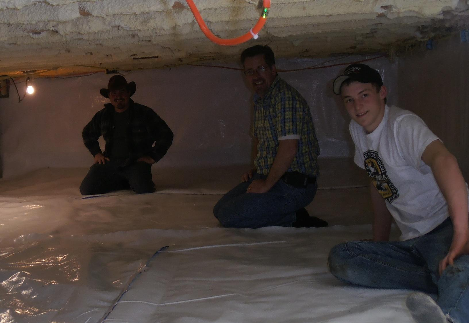 Are you happy with your crawl space?