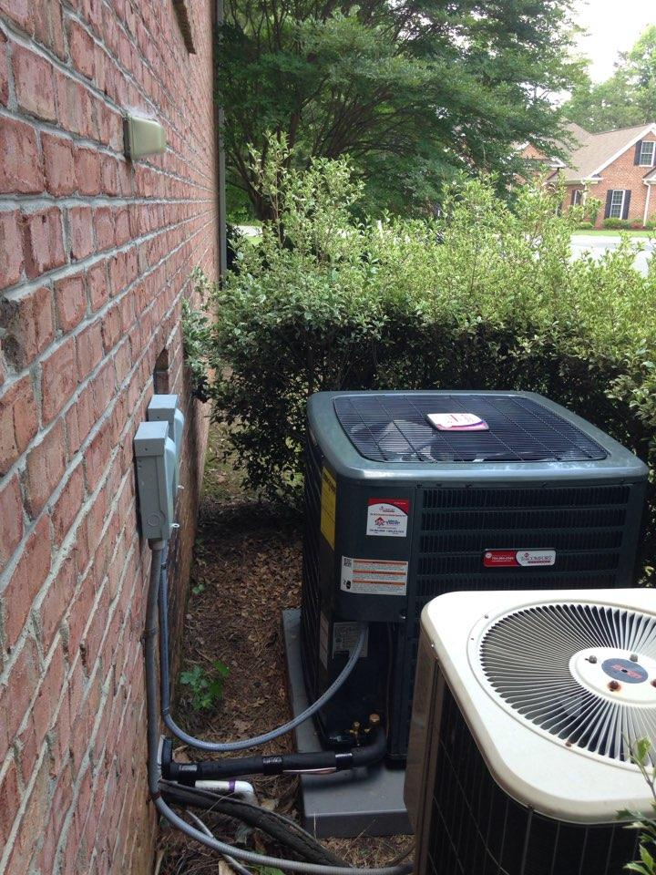 A/C and Coil Installation.