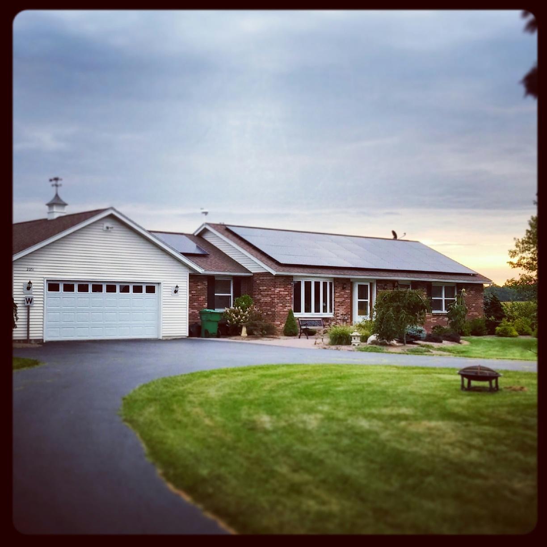 Solar Array in Bloomfield, NY