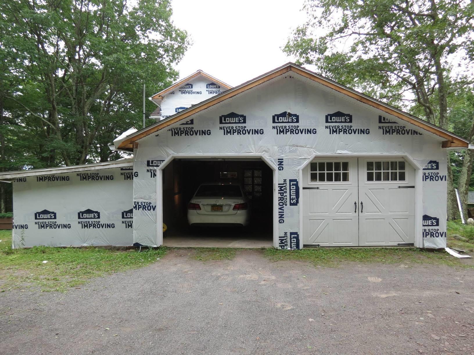 Garage Siding Installation in Olivebridge