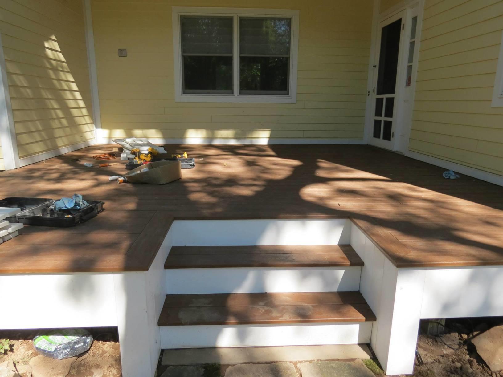 Back Deck Construction in Olivebridge, NY
