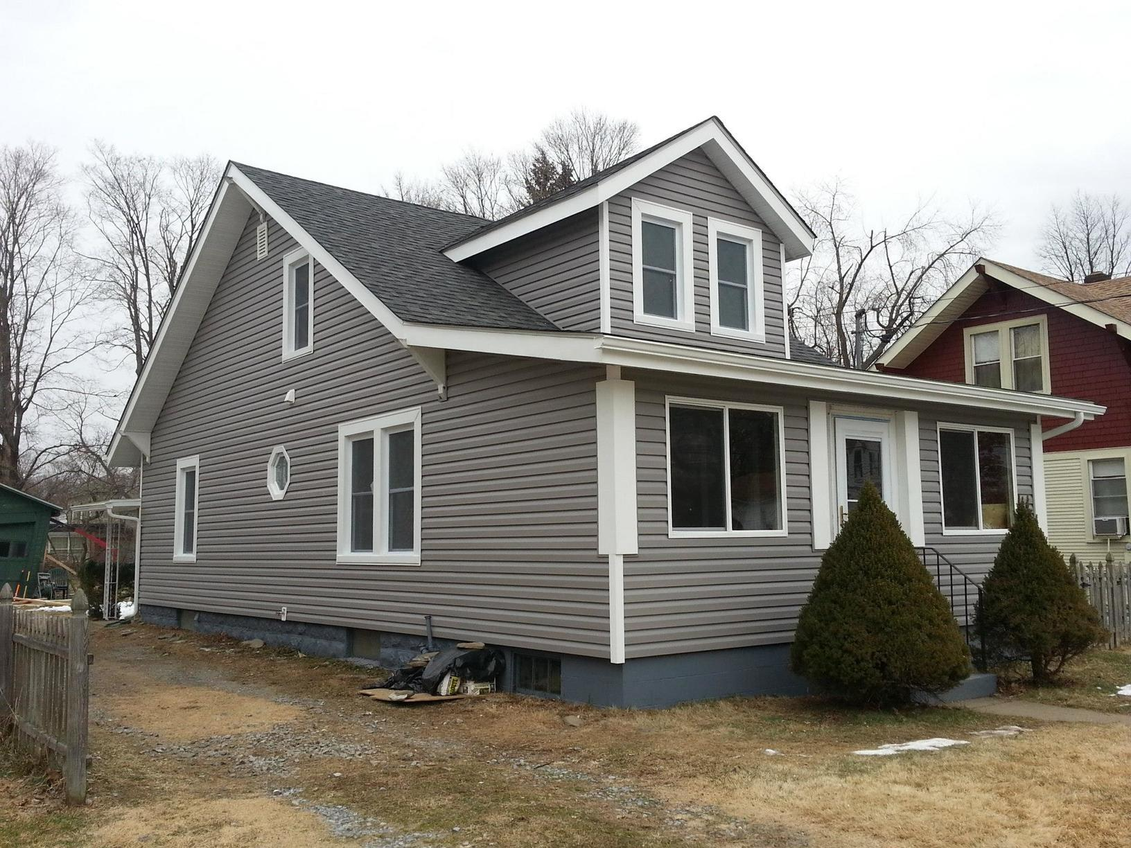 Roof & Siding Install Complted