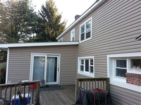 A complete siding install in New York