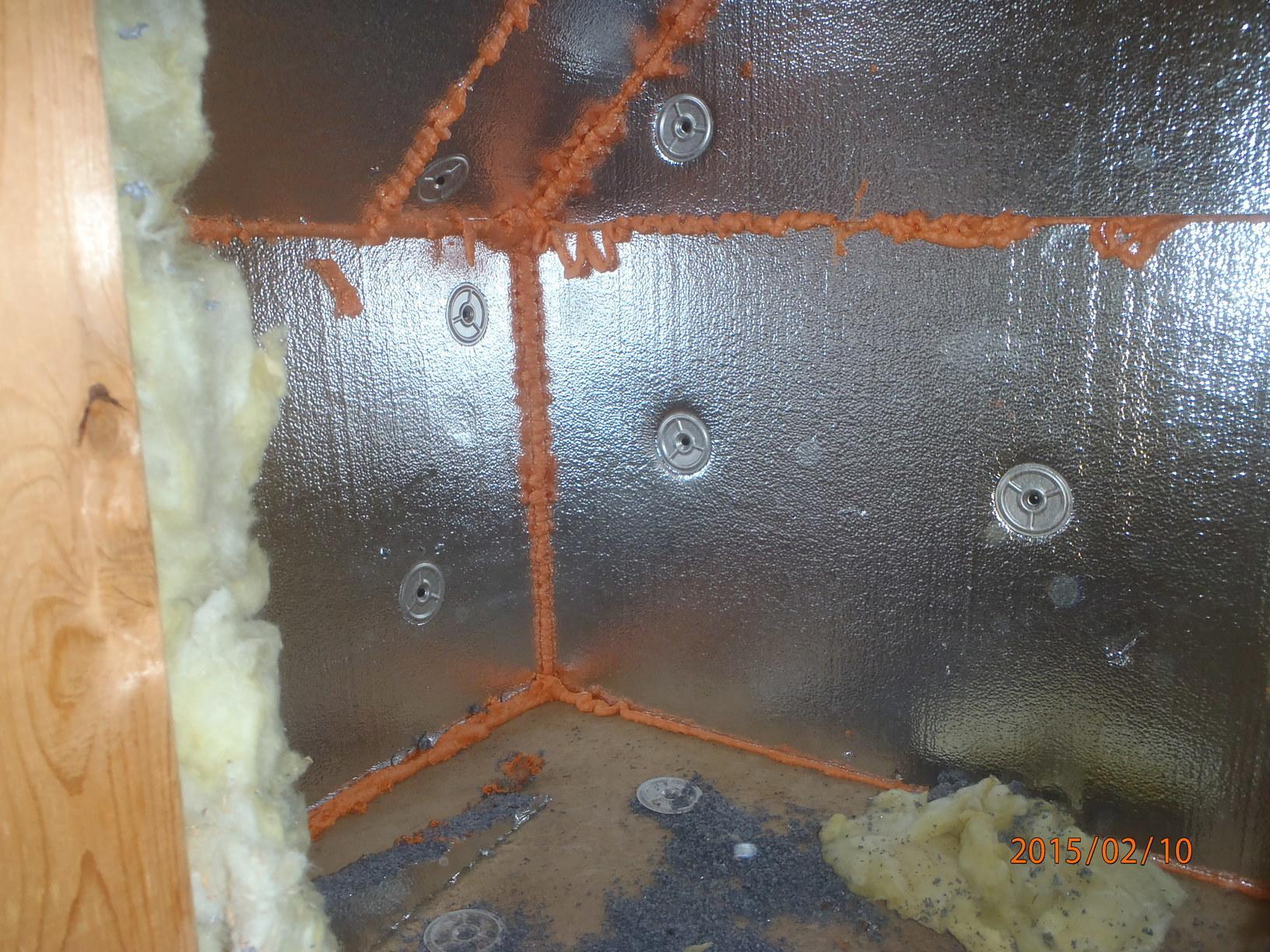 Air Sealing & SilverGlo Installation
