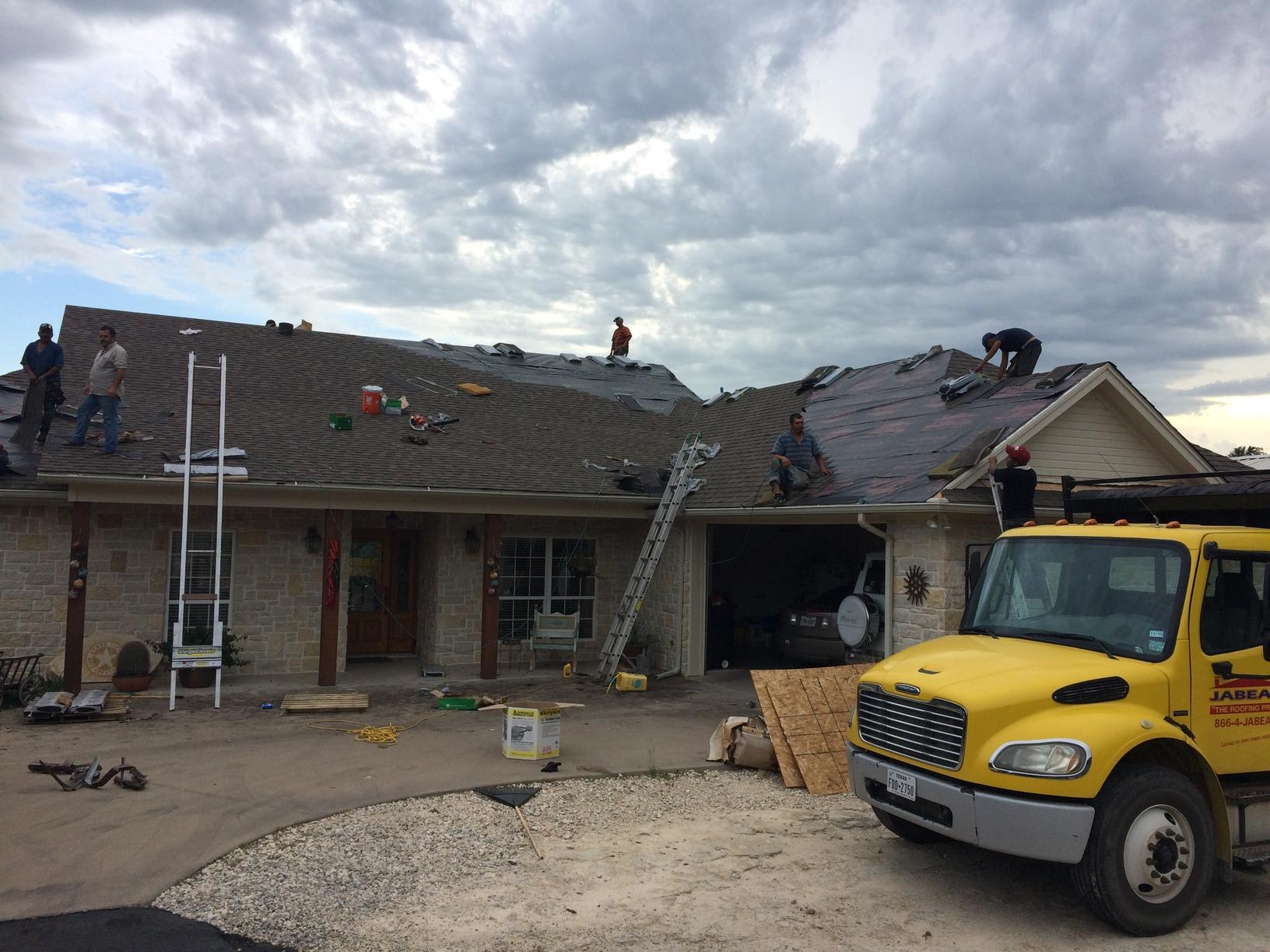 Roofing in Bluff Dale, Texas