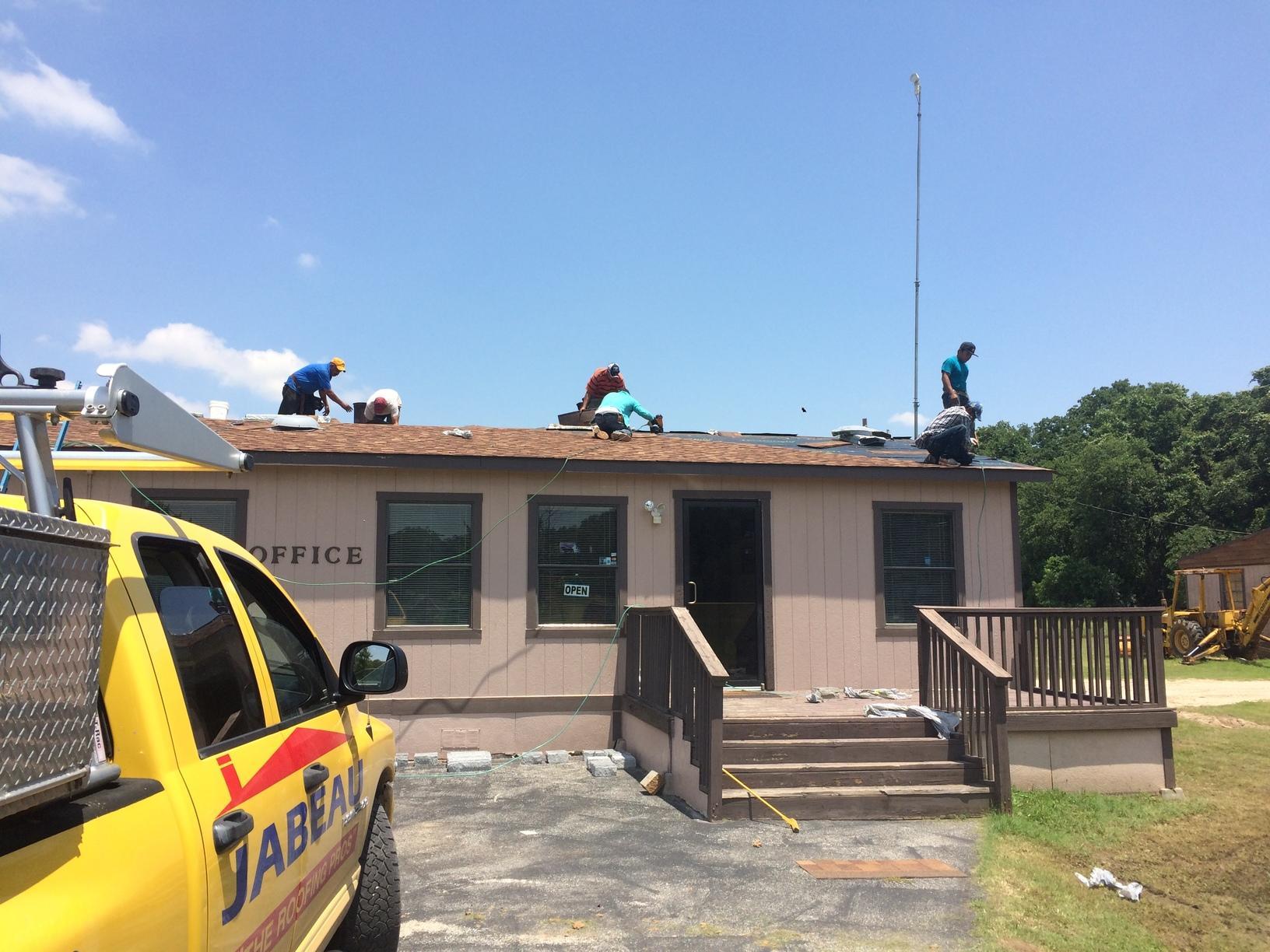 Roof repair in Azle, TX