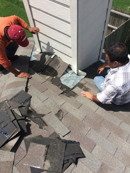 Leaky Roof Repair in Haslet