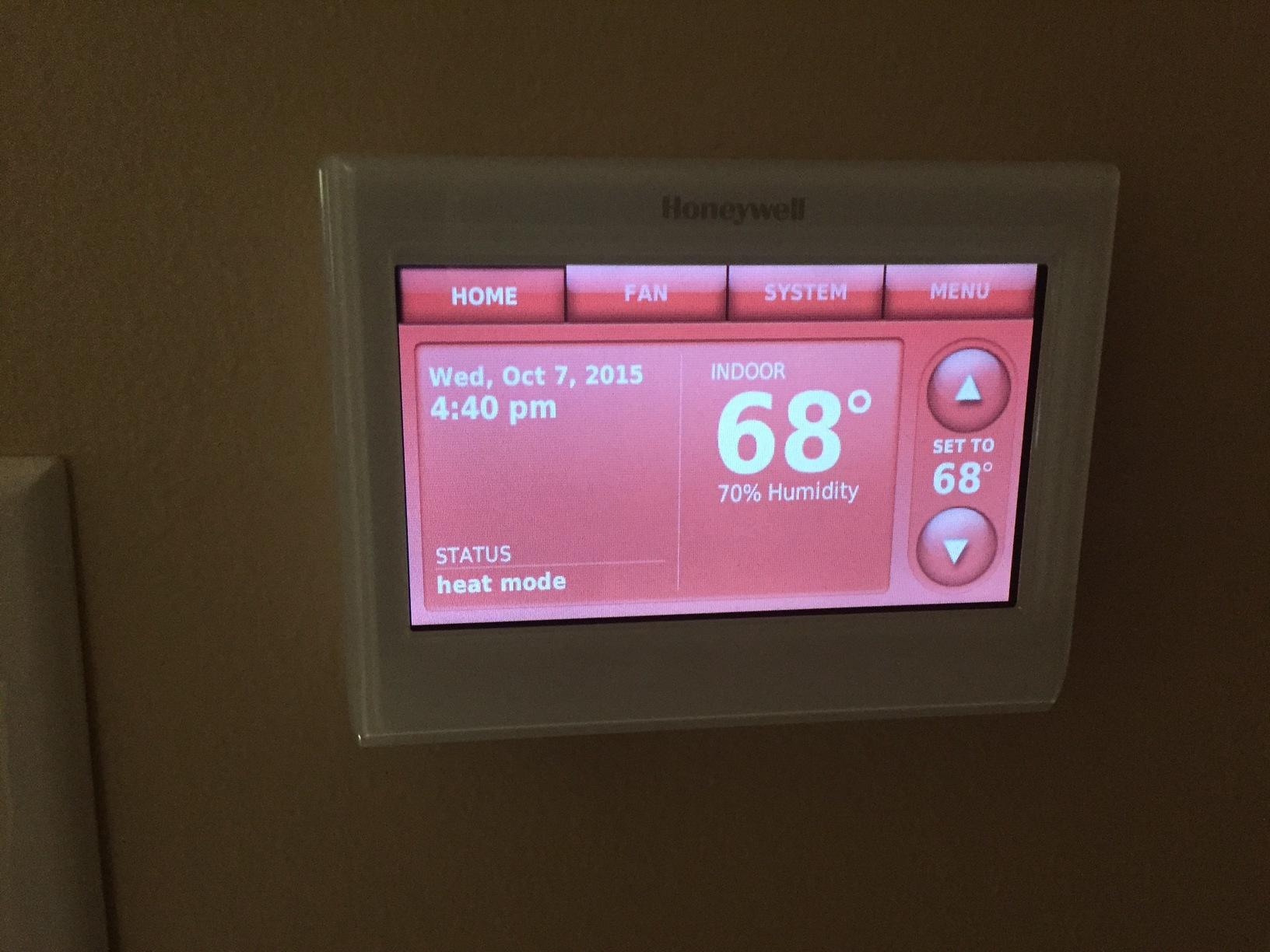 New Thermostat