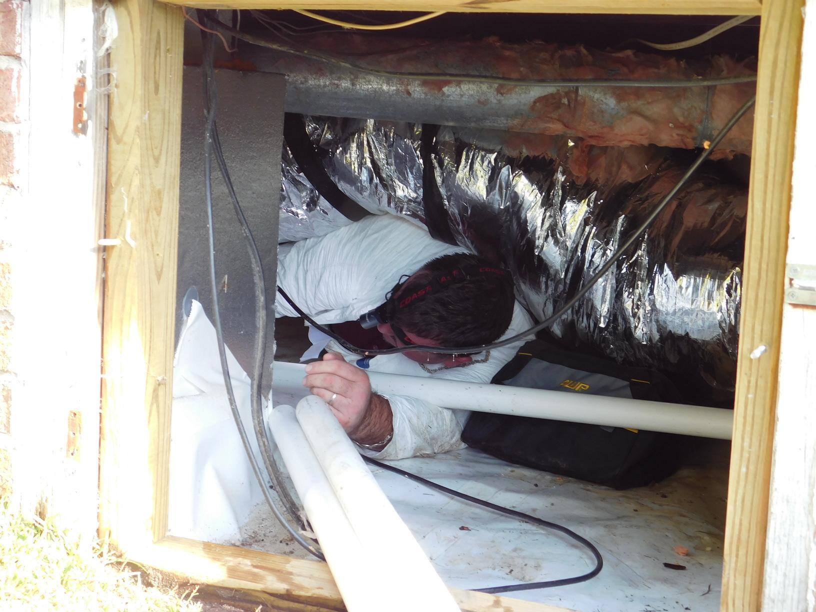 Sump Pump Installed In Spartanburg Sc Sean In Crawlspace