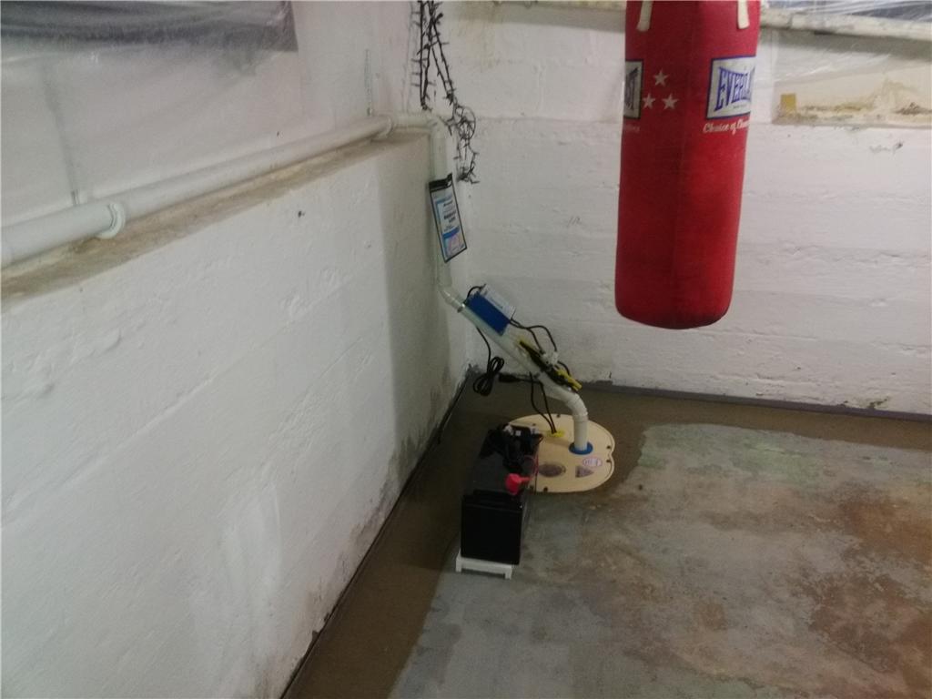 A Waterproofed Basement in Queens!