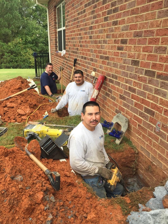 Foundation Services Push Piers Stabilize Rock Hill Sc