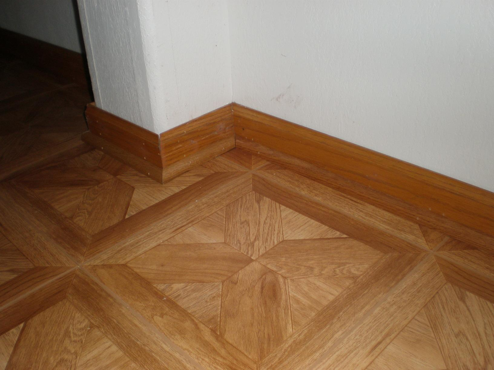 Faux Wood Flooring in a Milwaukee Basement
