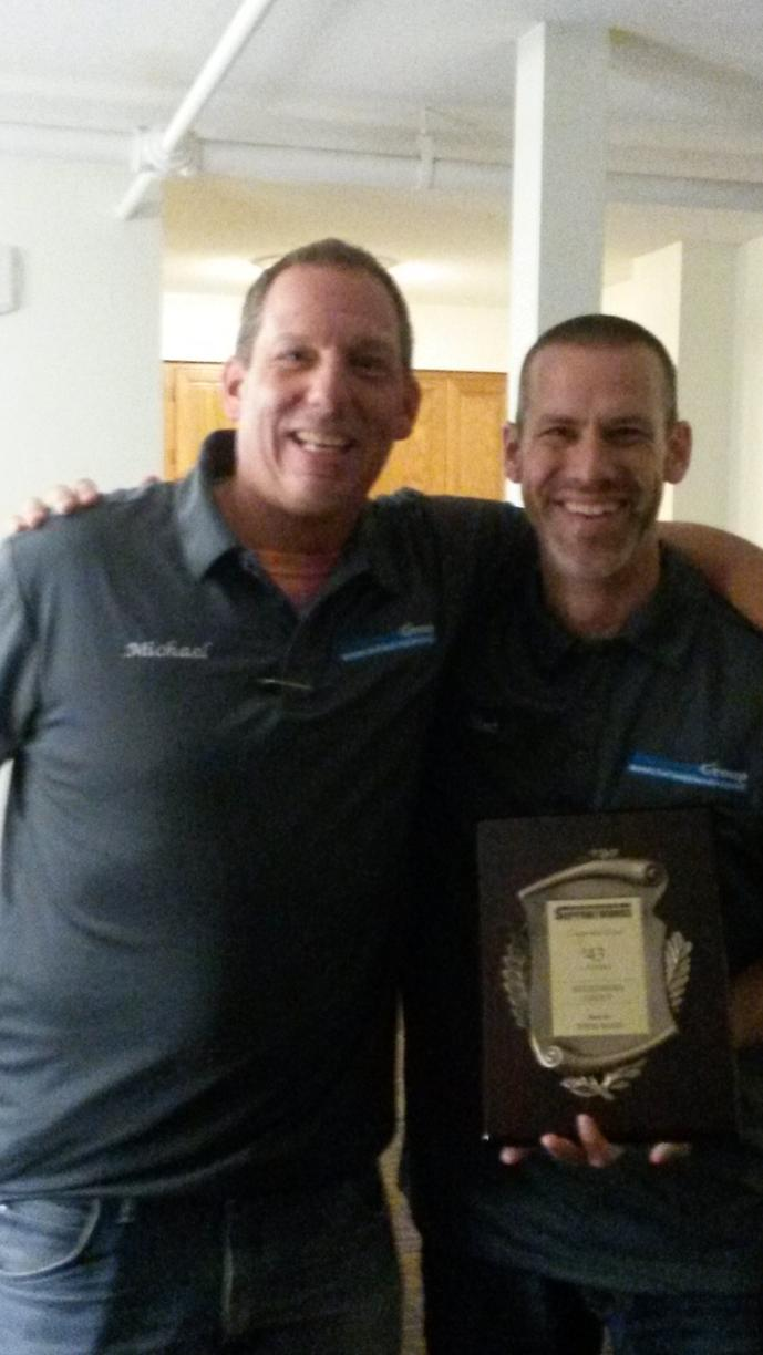Clint Cooper and Michael Lurie excited about the network recognition