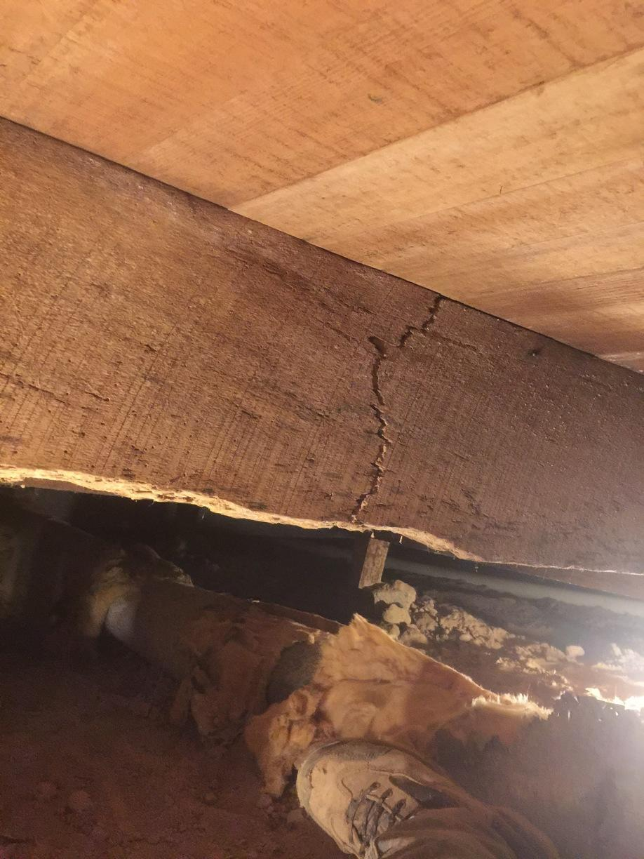 Busted floor joists