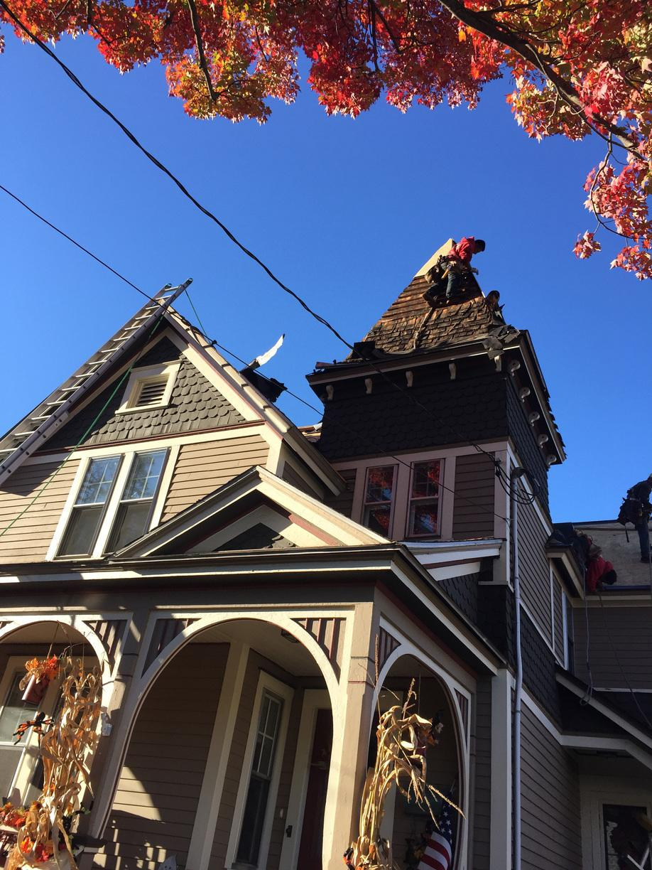 Roof Replacement New Roof For A Victorian Home In
