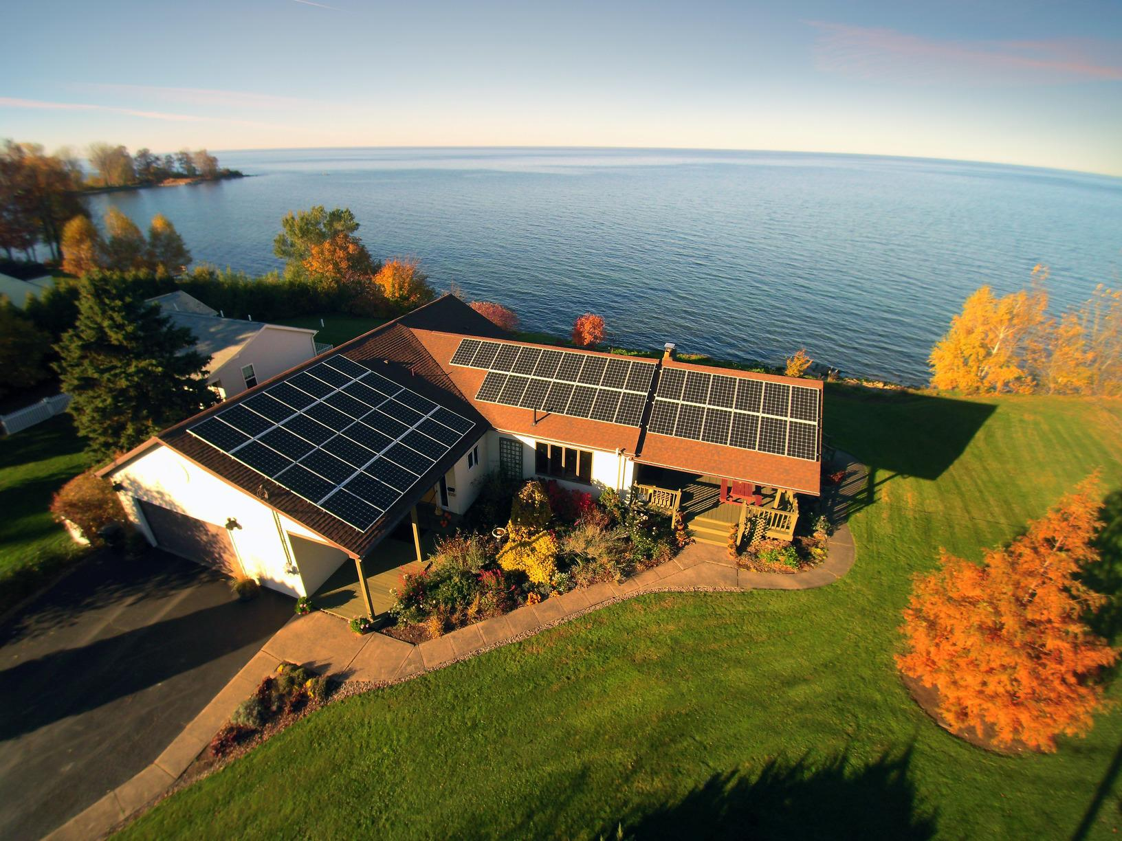 15.96 kW Solar Electric System Installed in Williamson, NY