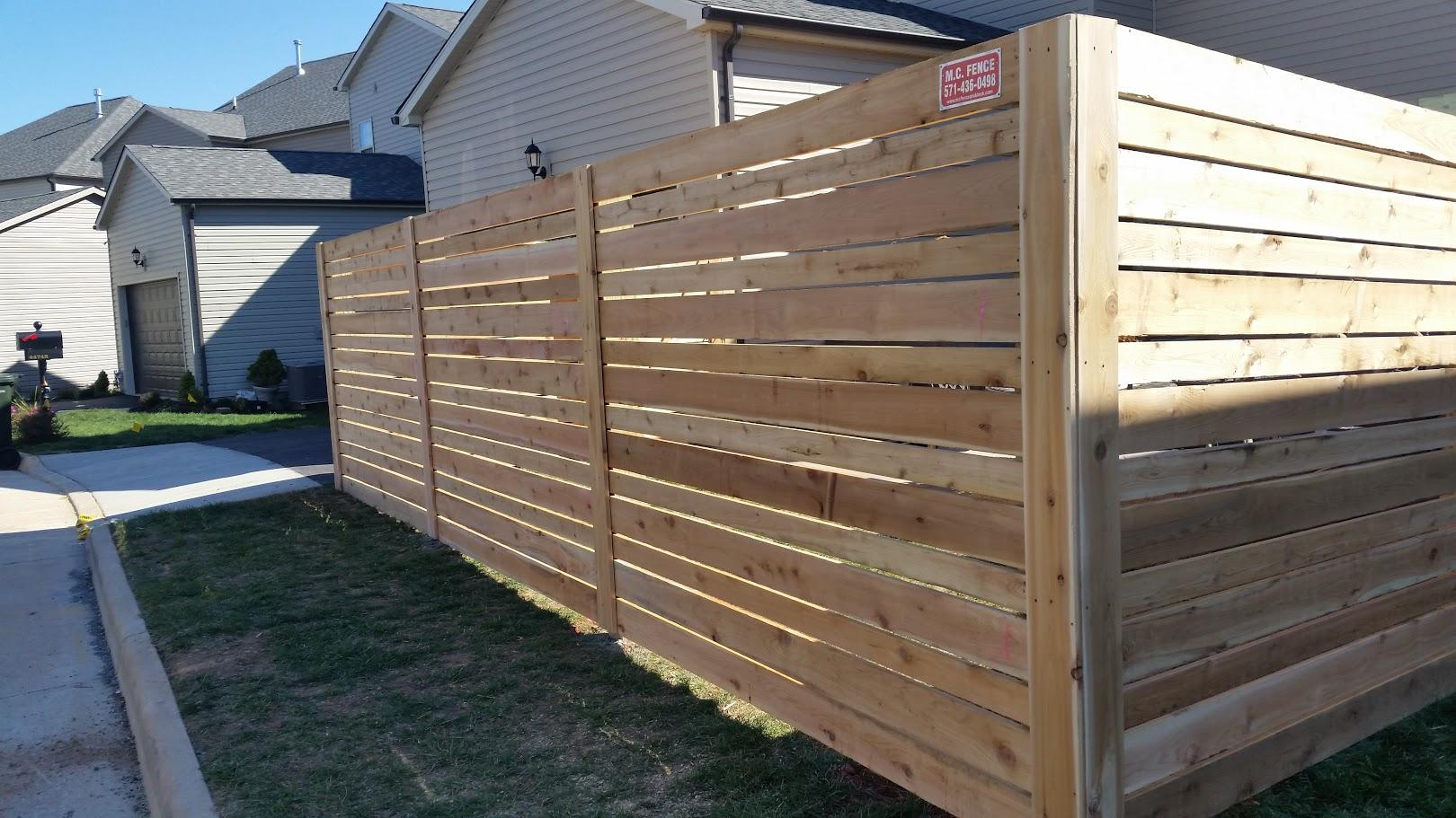 Mc Fence And Deck Residential Fencing Western Red