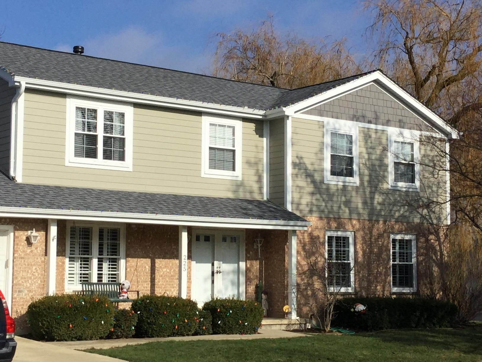 Siding, Roofing, Soffit, Fascia, & Gutter Project in Frankfort IL