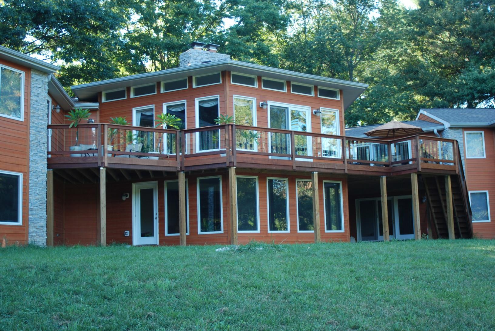Additions Decks In Reisterstown Md Two Story Addition