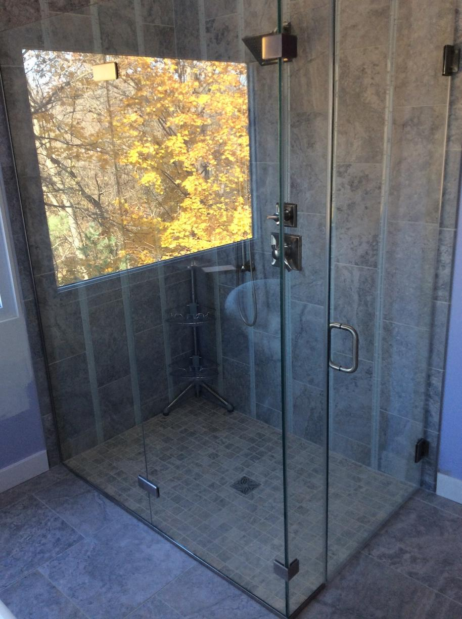 Curbless Shower in Columbia, Md.