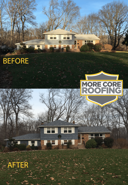 Slatestone Roof Install Red Bank NJ
