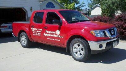 ProSeal Basement System's Company Truck