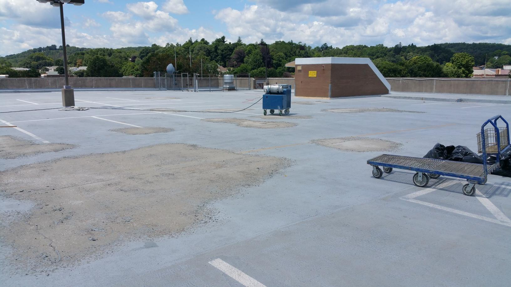 Before Replacing the Garage Coating in Bristol, CT