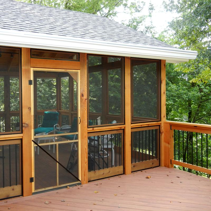 Screened in Porch Accents