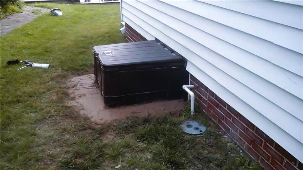 The Turtl Crawl Space Entry Well