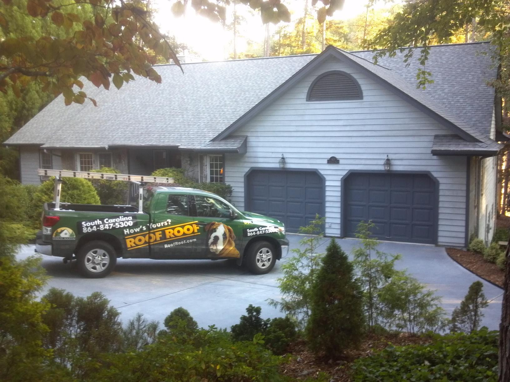 Roof Replacement in Keowee Key