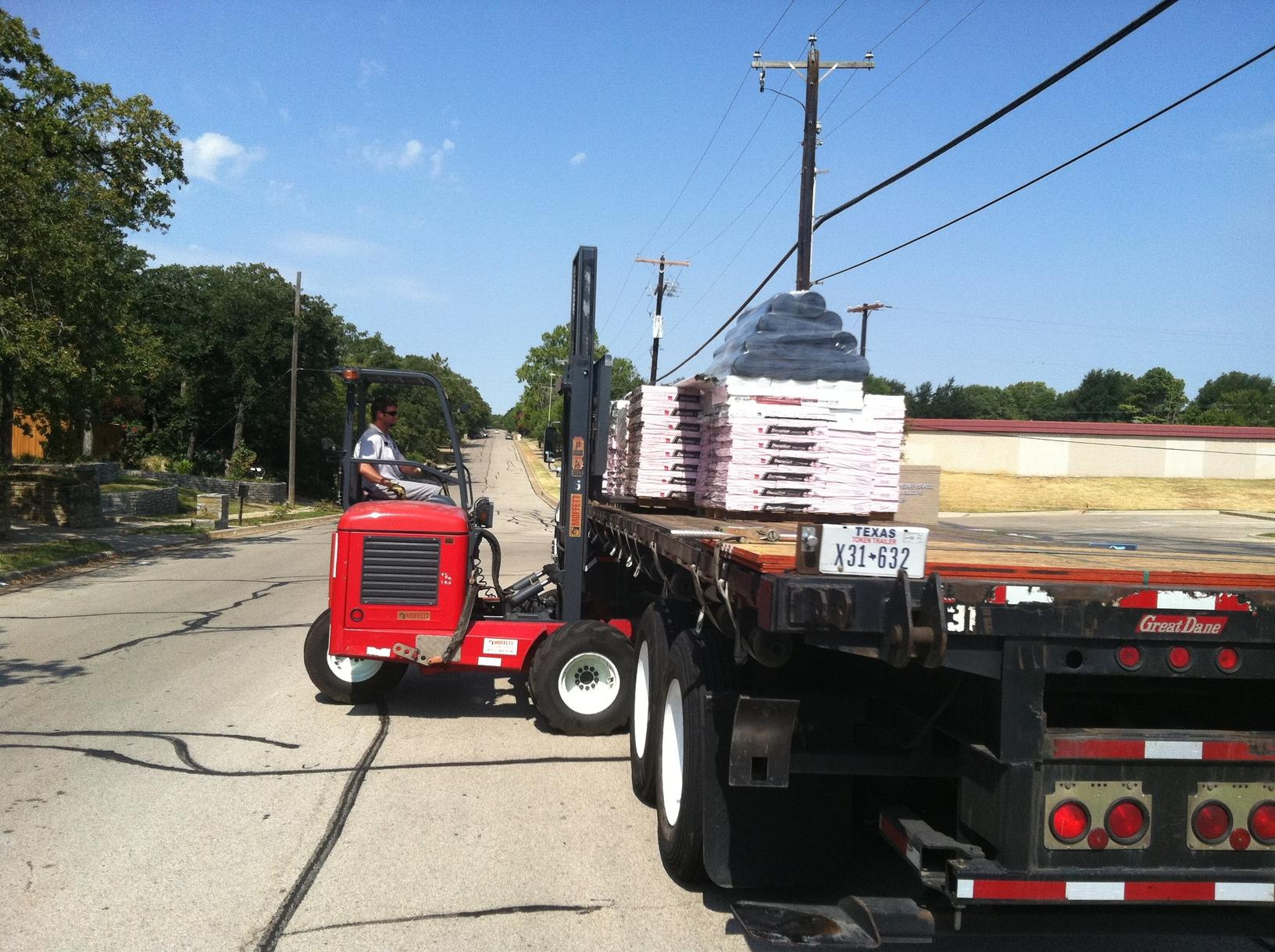 Offloading Your Materials