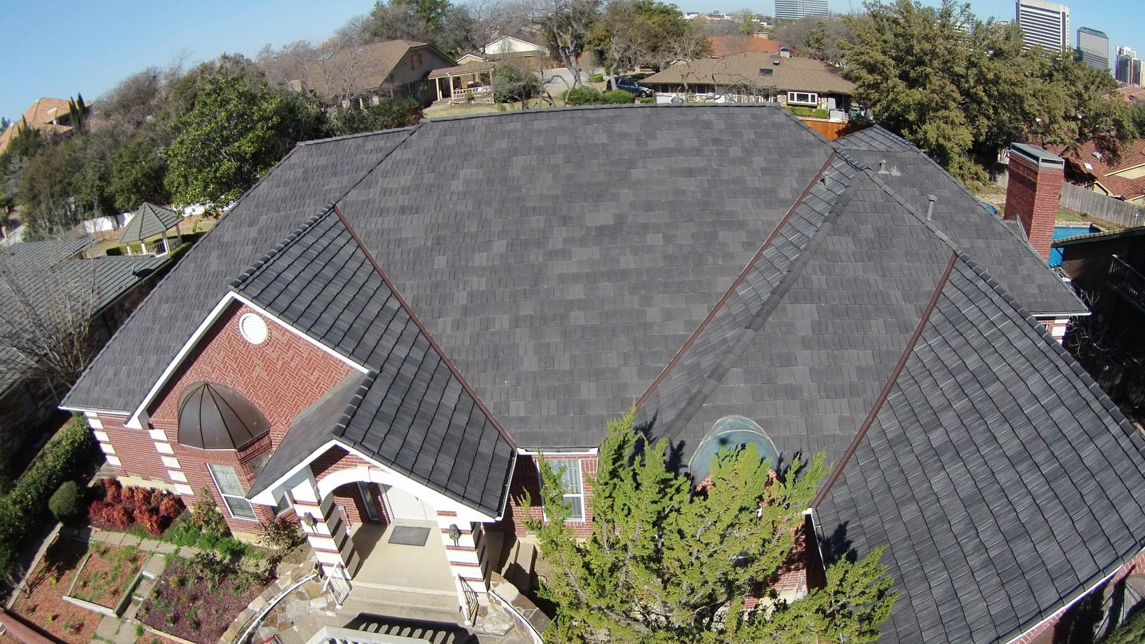 Drone View of the Roof