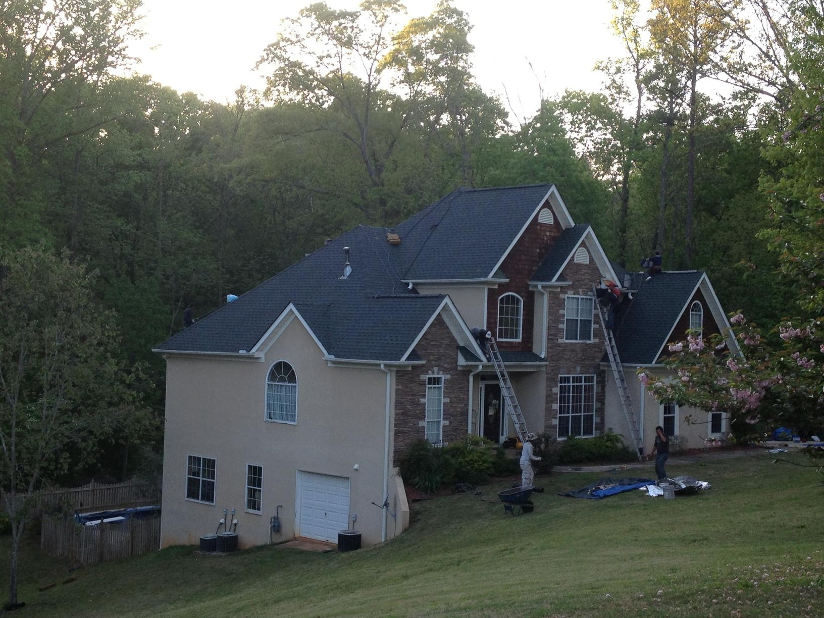 Roof Replacement Roof Replacement In Mcdonough Ga