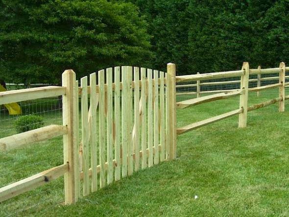 Split Rail Fence Selections in Mclean