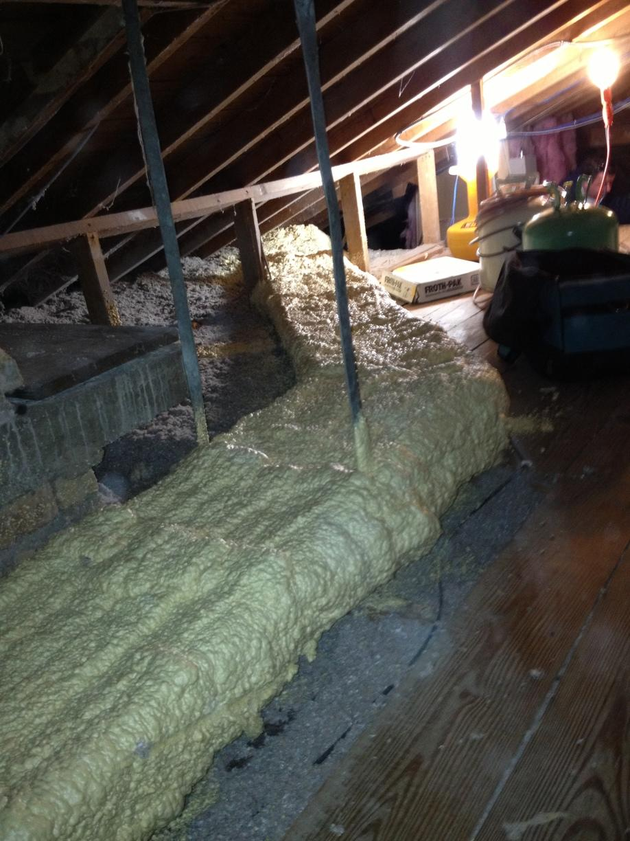 Attic Foam Ducts