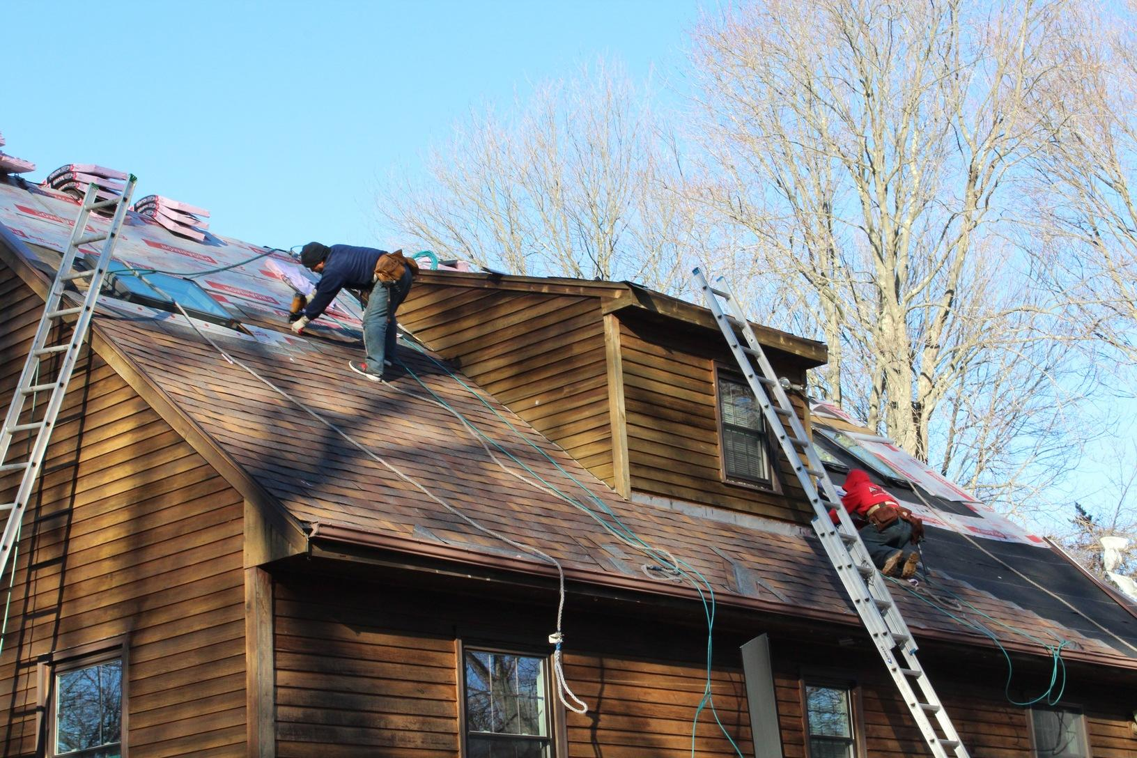 Roof Replacement Winter Roof Replacement In Colchester