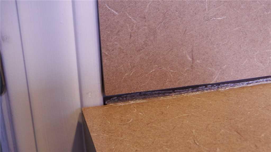 Sinking Countertop Pulls Away from Wall