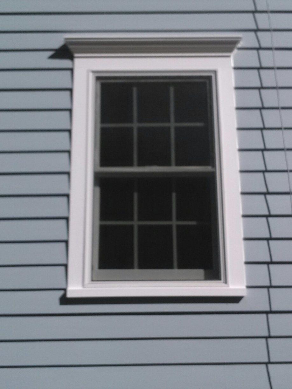 Updated Window Trim in Ridgefield, Connecticut