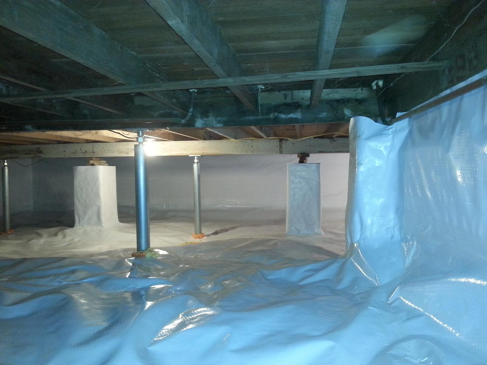 Crawl space repair in CT