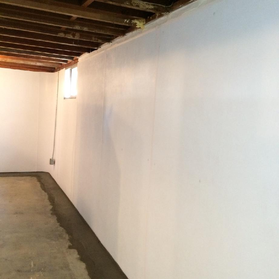 This basement is now ready to finish