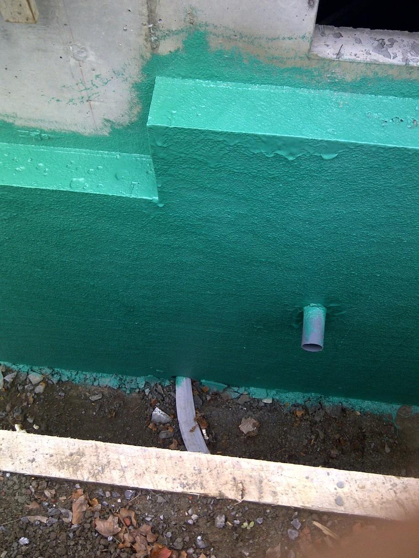 Step Footing Foundation Waterproofing