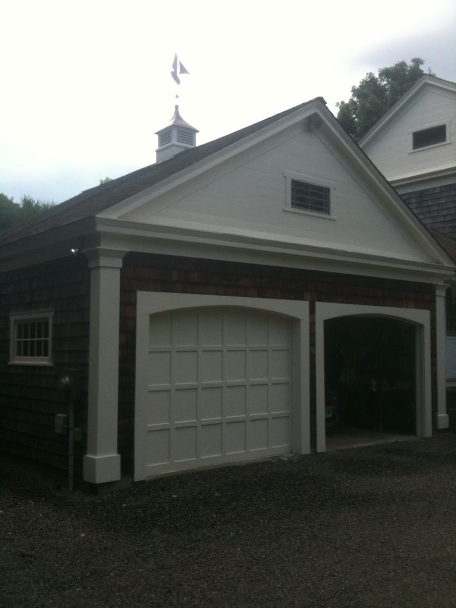 Painting Exterior Home Garage in Easton, Connecticut