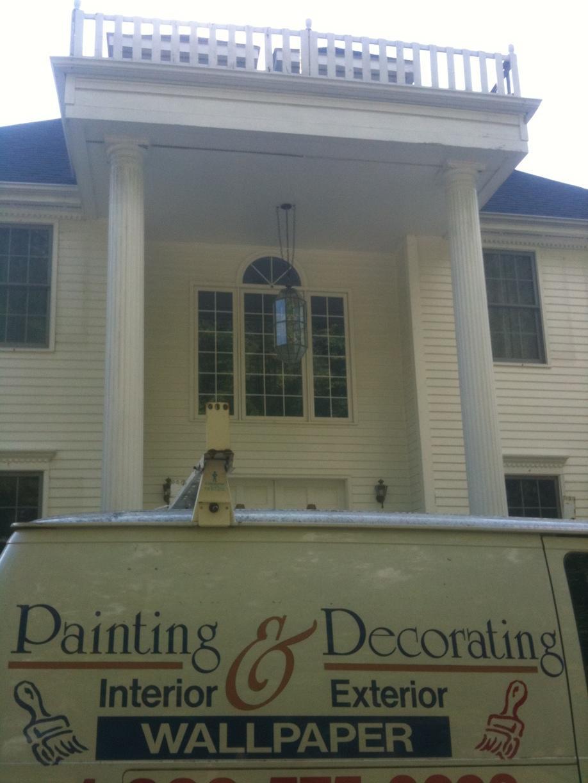 Outside Paint Job in Redding, CT