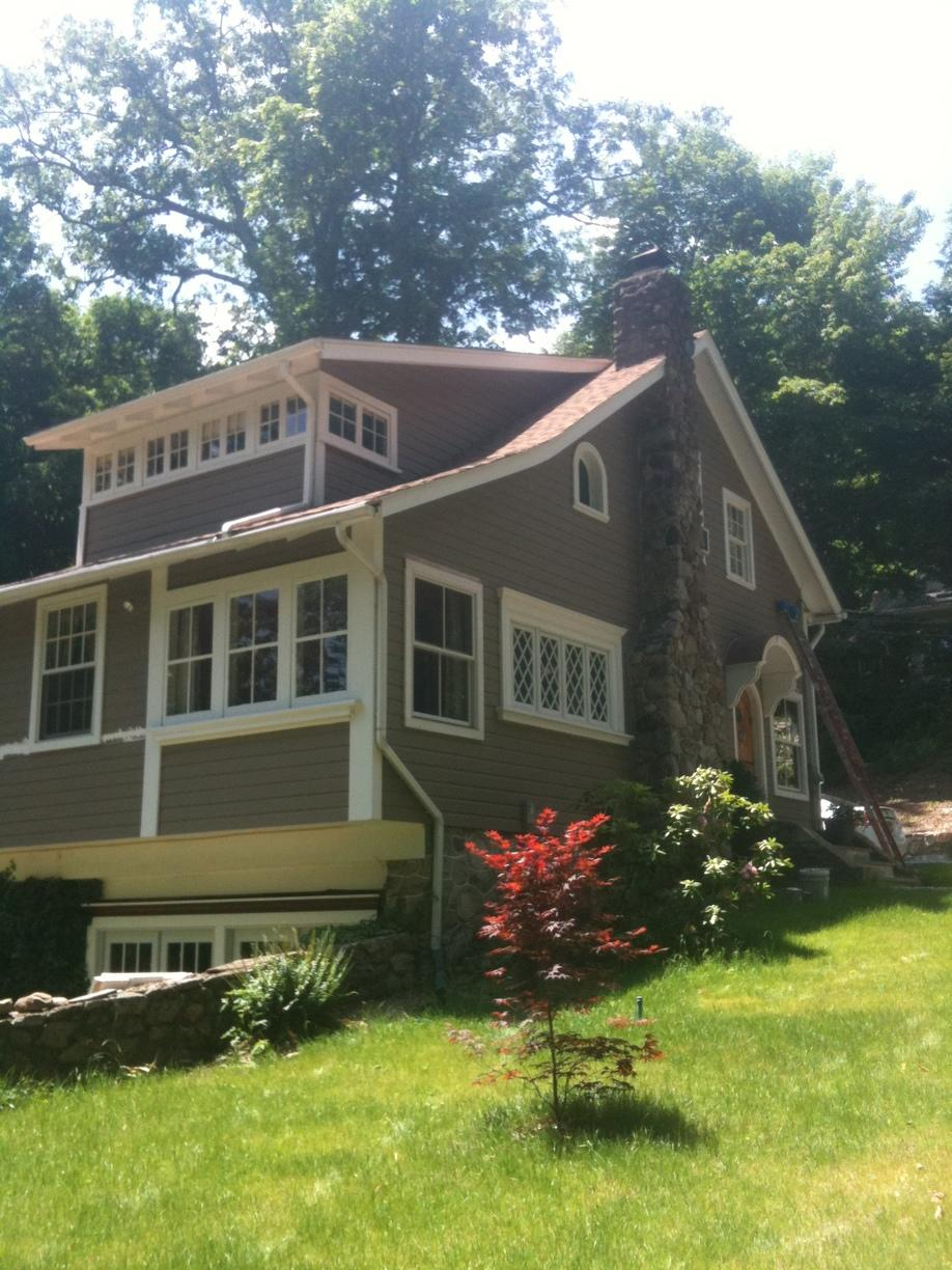 House Exterior Paint Job in Sandy Hook