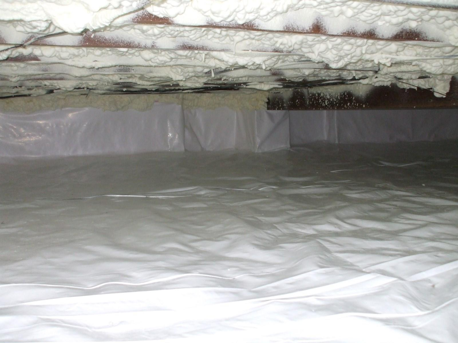 Completed Crawlspace Encapsulation in Greenwood Lake, NY