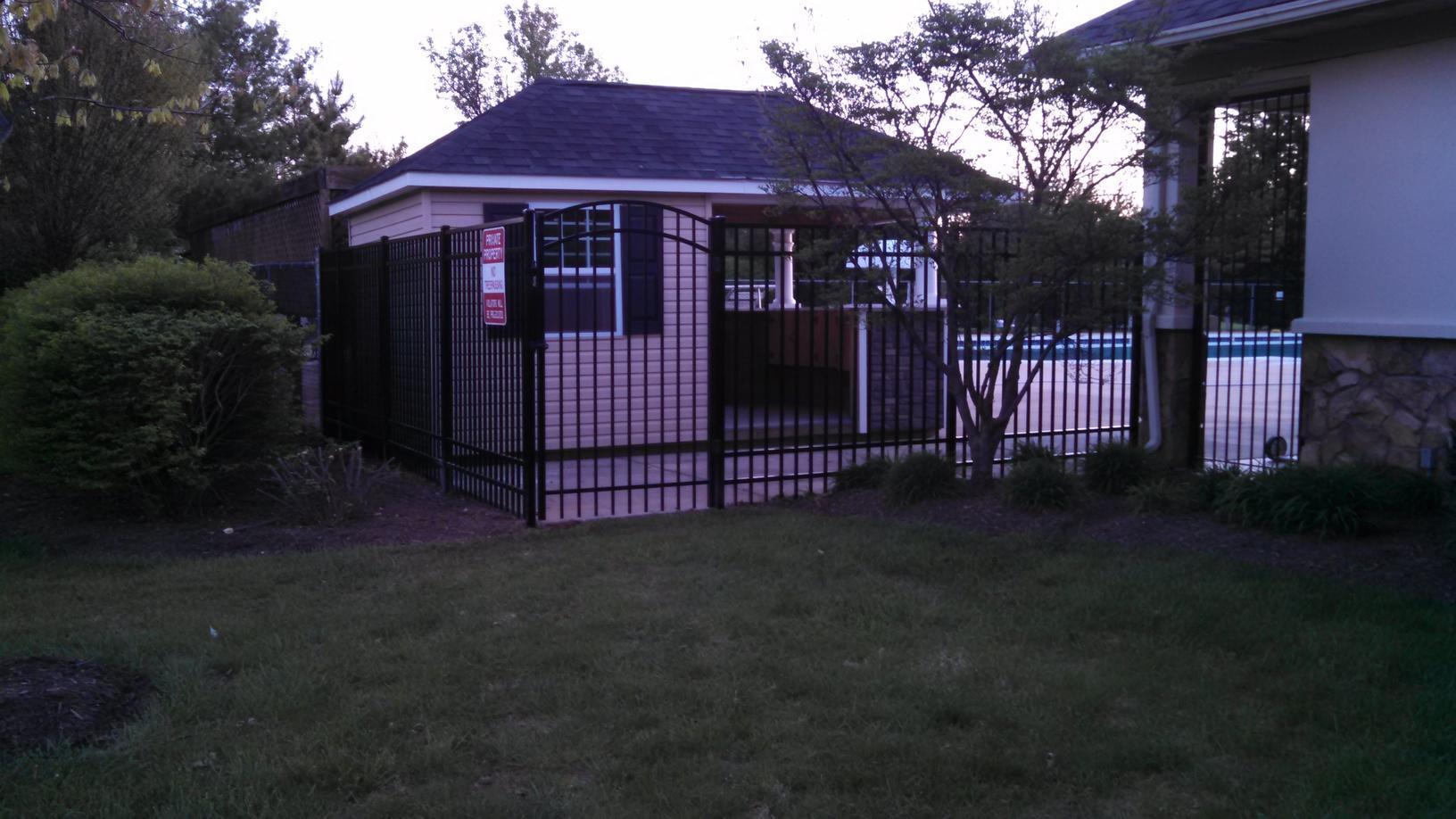 Aluminum Fence in Haymarket