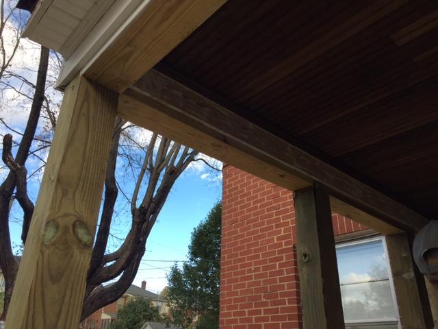 Raframing the Porch